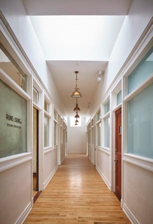 bank hallway