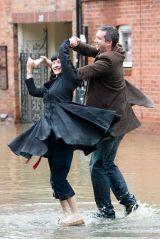 dancing in a flood